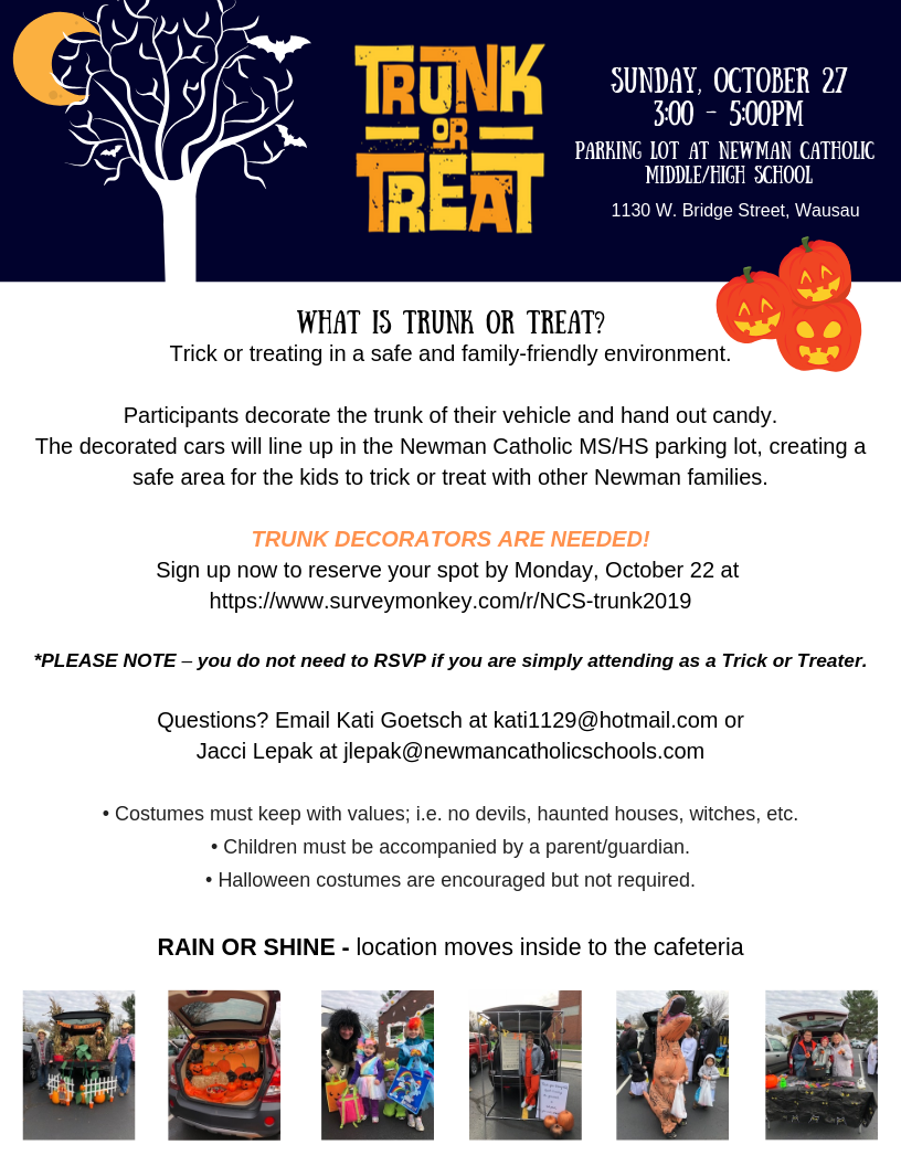 2019 Trunk or Treat
